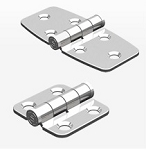 Southco stainless steel N6 Surface Mount Hinge